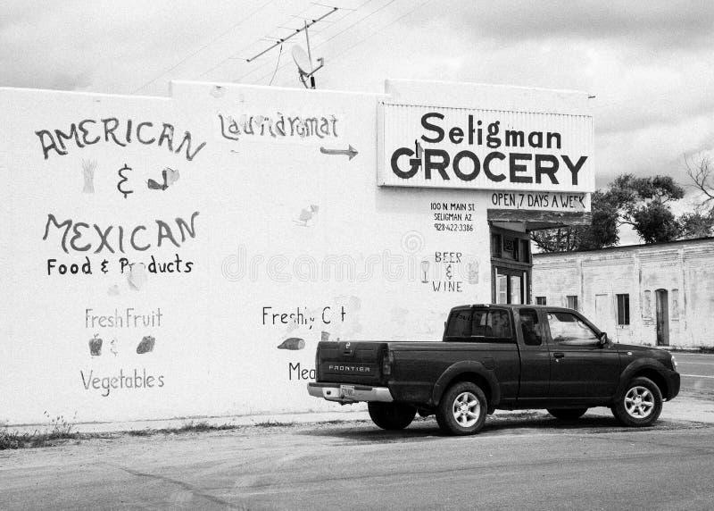 Mantimento de Seligman fotografia de stock royalty free