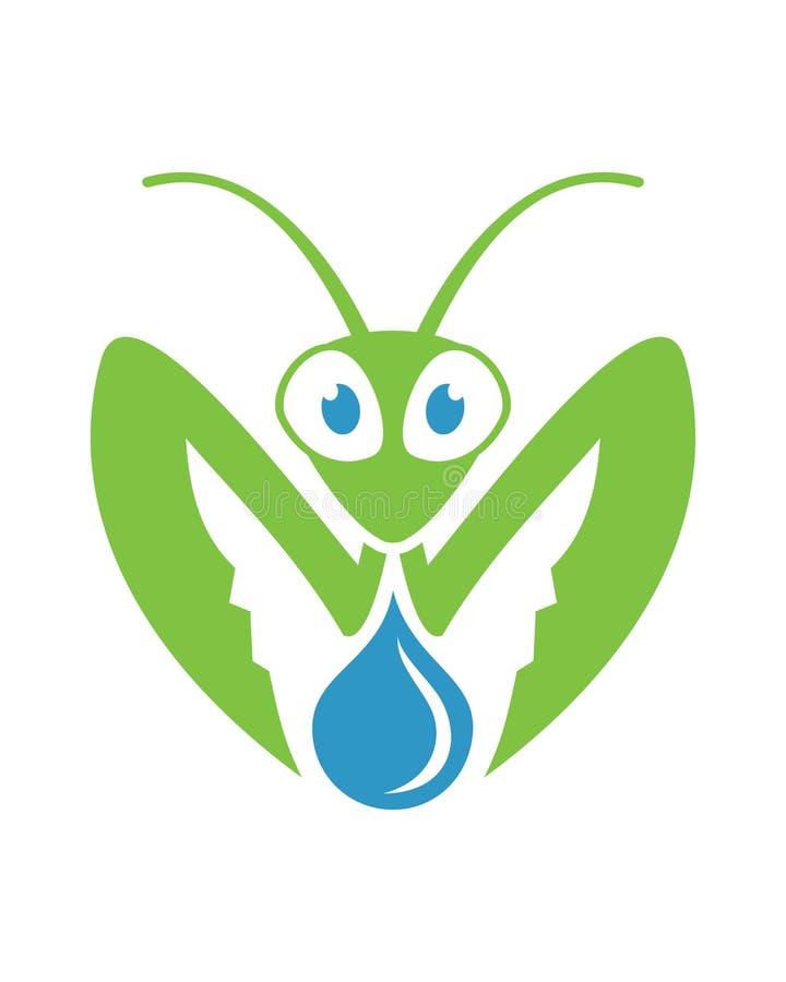 Mantis Water royalty free stock photos