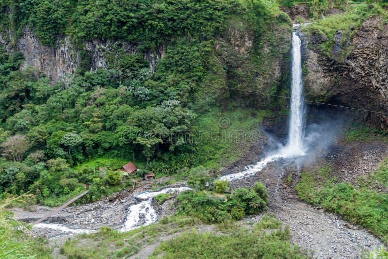 Manto de la Novia Bridal Veil-Wasserfall stockfotografie