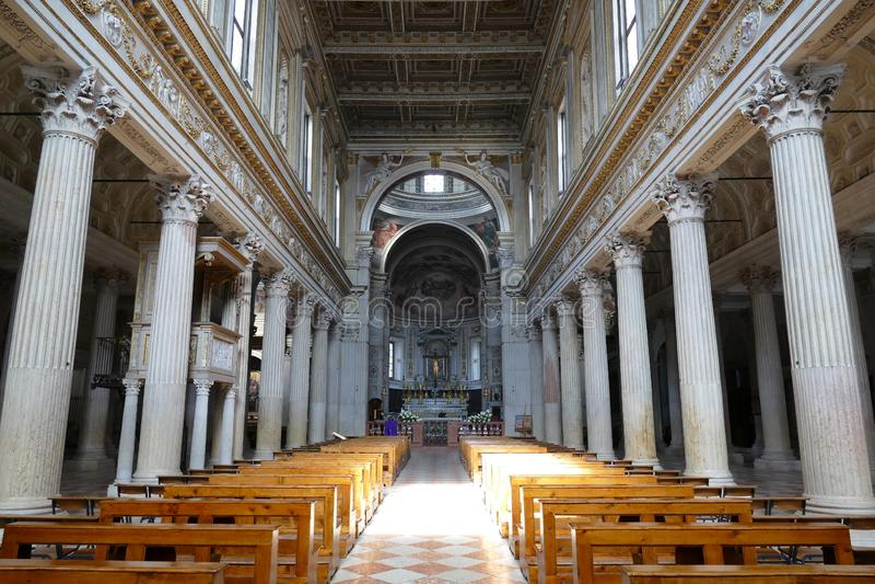 "Mantova †""St Peter katedra zdjęcia royalty free"