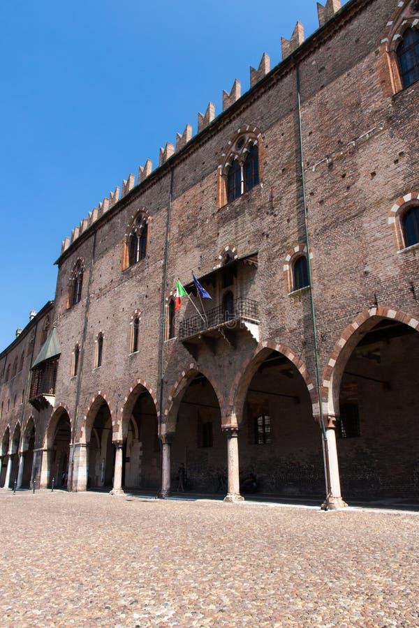 Mantova-alte Stadt stockfoto