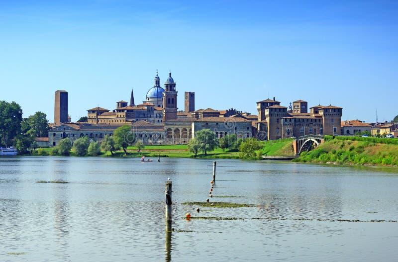 Mantova, Italië stock afbeelding