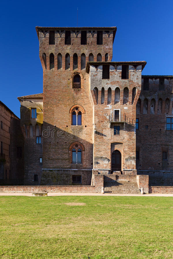 Mantova saint george castle tower. View royalty free stock image