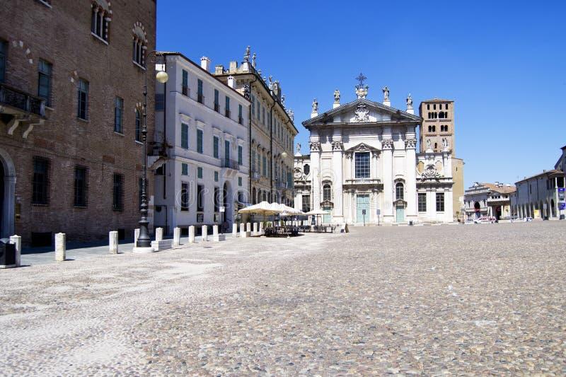 Mantova stolica reinassance królowanie Gonzaga rodzina w północnym Włochy, fotografia royalty free