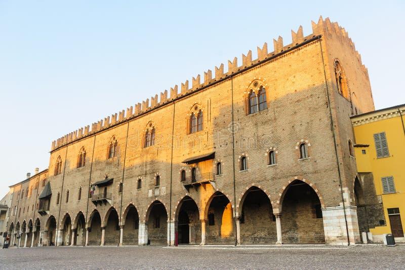 Mantua, Palazzo Ducale fotos de stock royalty free