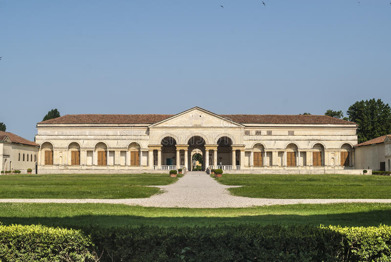 Download Mantua, Palazzo Te stock image. Image of front, blue - 28558653
