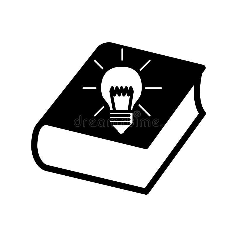 Manuał książkowa ikona, Wektorowa ilustracja ilustracji