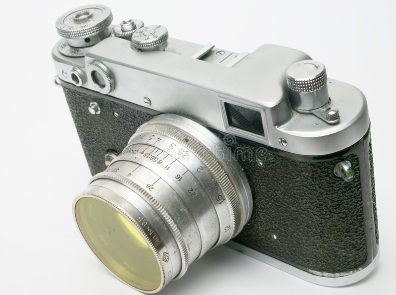 Manual 35mm Camera 2 royalty free stock images