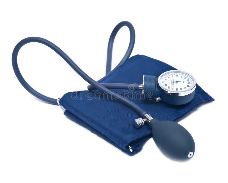 Manual blood pressure sphygmomanometer royalty free stock photo