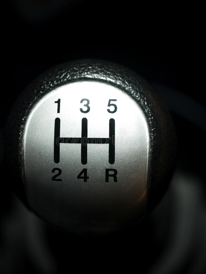 Download Manual car gear shift stock photo. Image of lever, number - 13575566