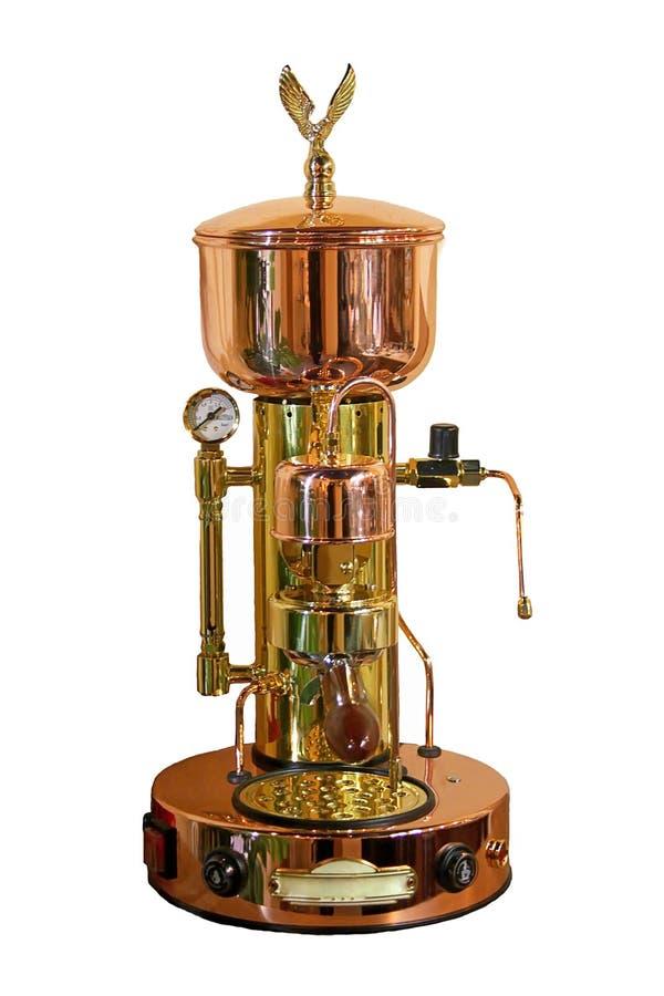Manual coffee machine espresso bar royalty free stock photos