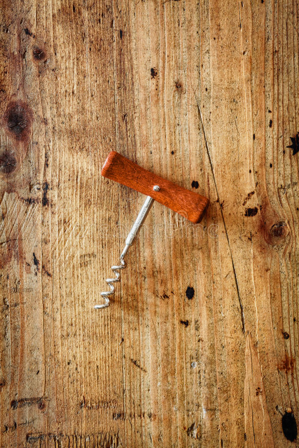 Download Manual corkscrew stock image. Image of metal, country - 33384561