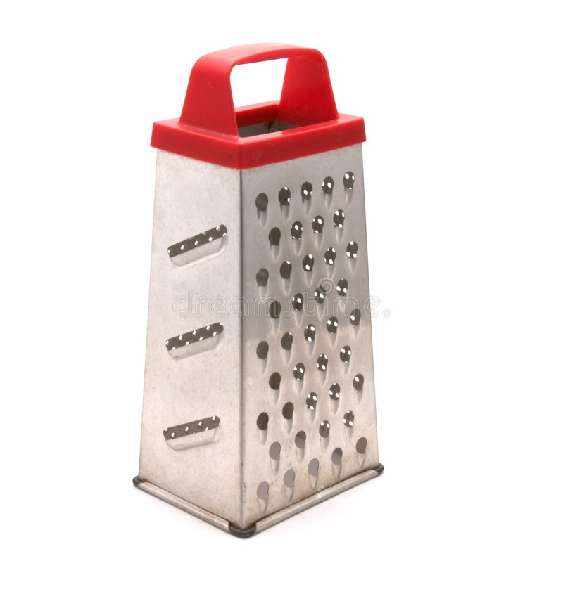 Manual kitchen grater royalty free stock photos
