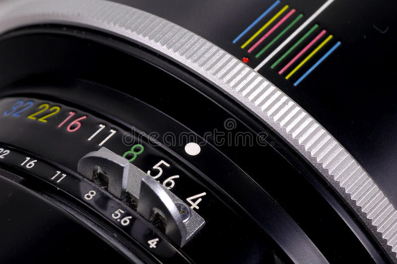 Download Manual Lense stock image. Image of shutter, photography - 165887