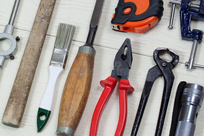 Manual work tool stock photos