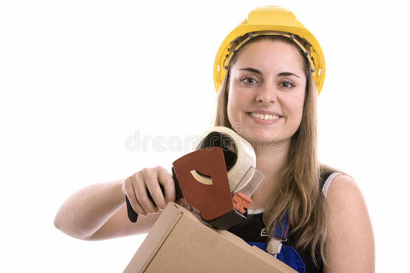 Manual worker stock photography