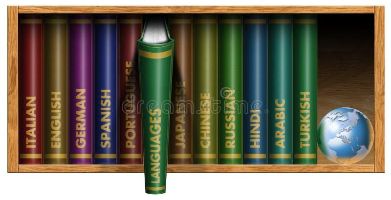 Manuali di linguaggio illustrazione di stock