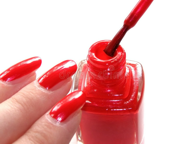 Manucure image stock