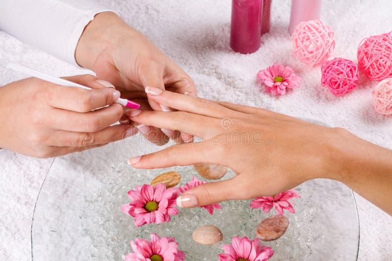 Manucure zdjęcie royalty free