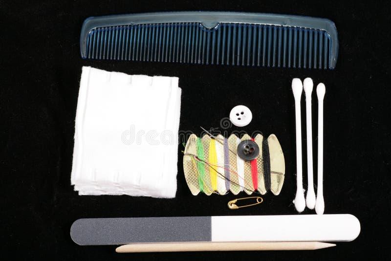 Manucure et outils et produits de pédicurie image libre de droits