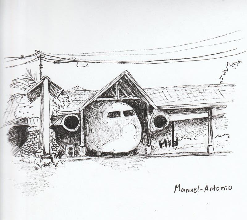 Manuel-Antonio imagenes de archivo