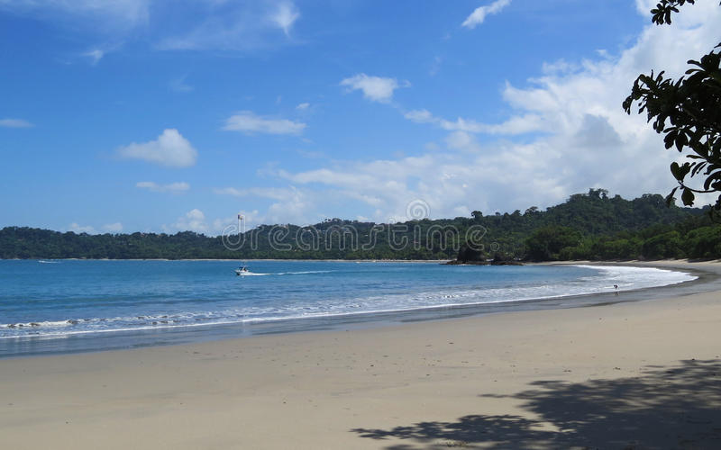 Manuel Antonio Beach stock fotografie