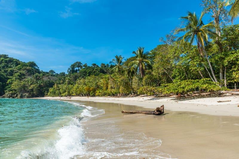 Manuel Antonio, Costa Rica - playa tropical hermosa fotografía de archivo libre de regalías