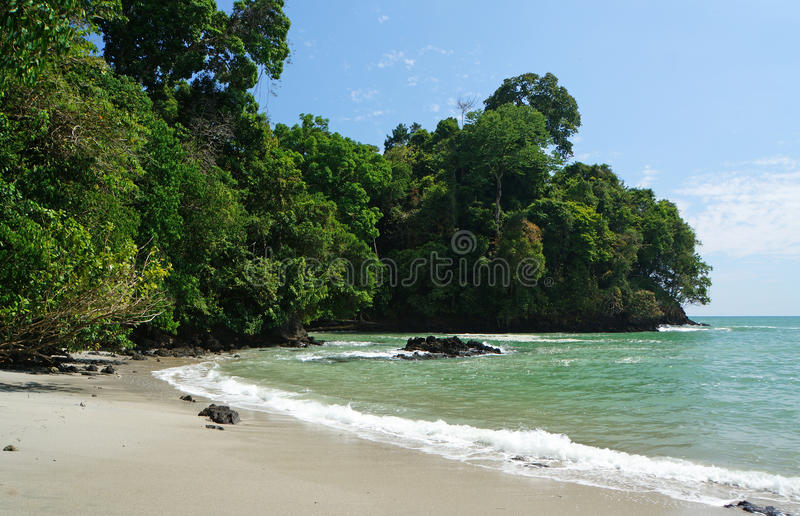 Manuel Antonio National Park foto de stock