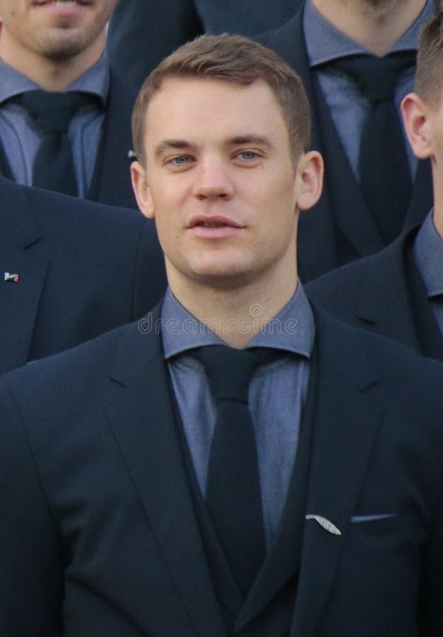 Manuel Neuer imagens de stock royalty free