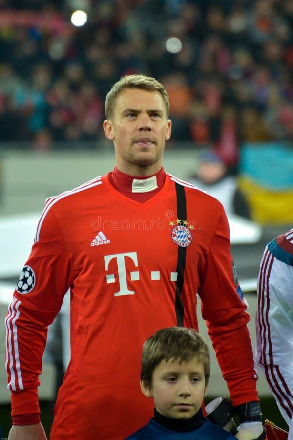 Manuel Neuer imagens de stock