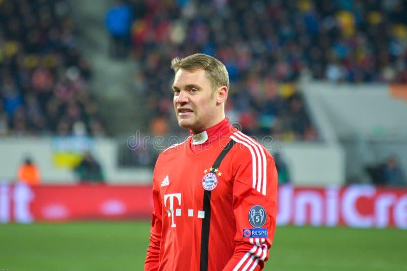 Manuel Neuer fotografie stock libere da diritti