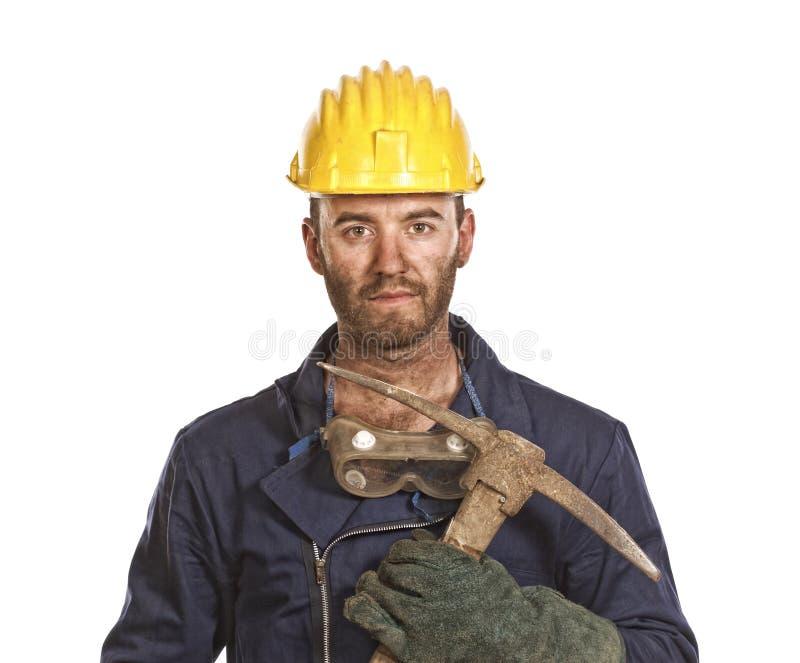 manuell arbetare arkivbild