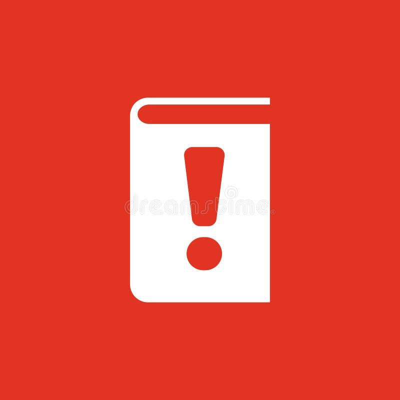 Manuelle Ikone ENV 10 Tutor- und wichtige Informationen, manuelles Symbol web graphik jpg ai app zeichen nachricht stock abbildung