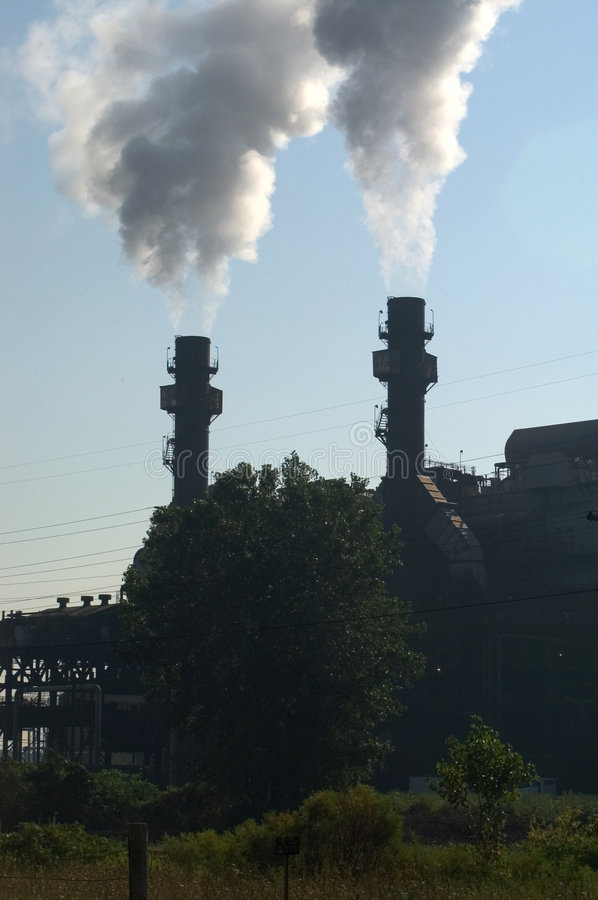 Download Manufacturing Effects stock photo. Image of stacks, chimneys - 21096