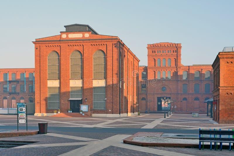 Manufaktura, Lodz, Pologne images libres de droits