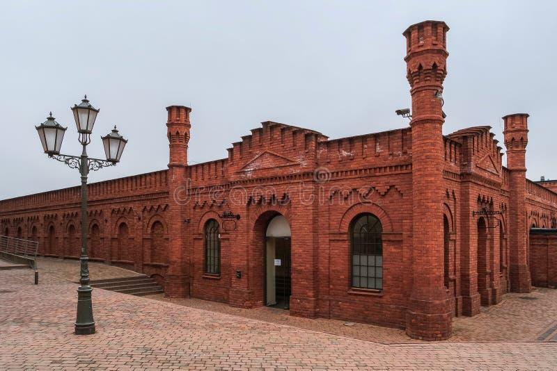 Manufaktura, Lodz, Pologne image libre de droits