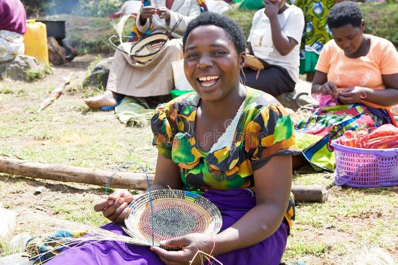 Manufatti ruandesi immagine stock
