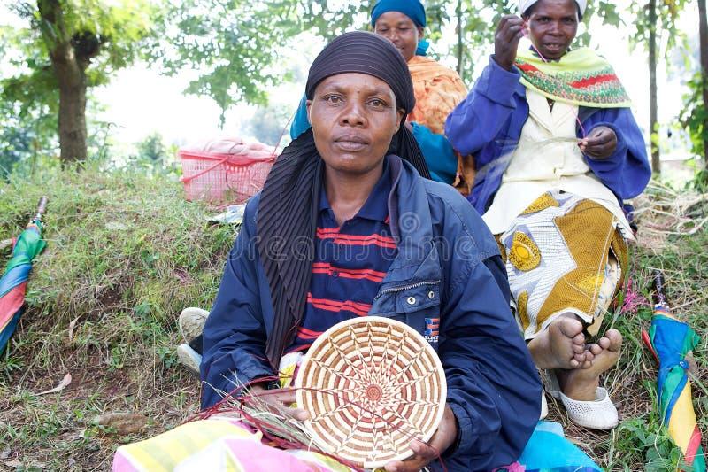 Manufatti ruandesi immagini stock