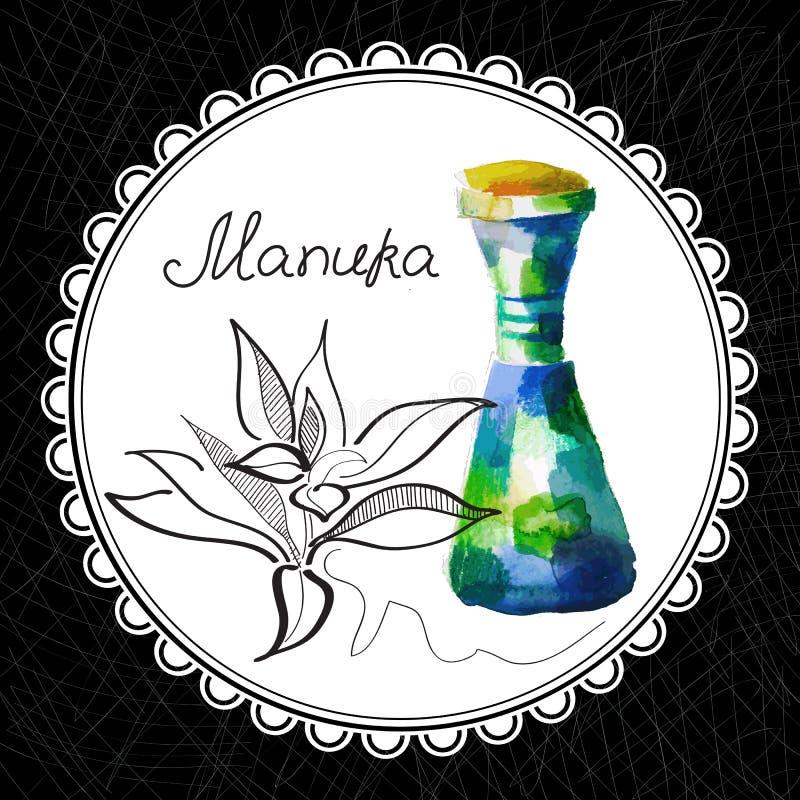 Manuka illustration stock