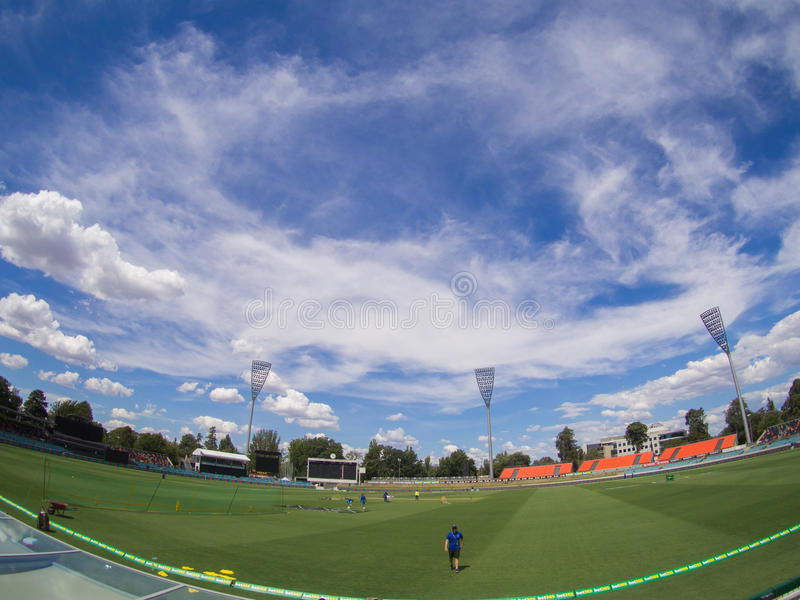 Manuka Oval, Canberra royaltyfri fotografi
