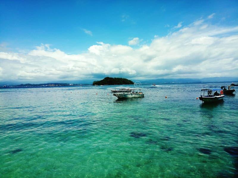 Manukan island royalty free stock photography