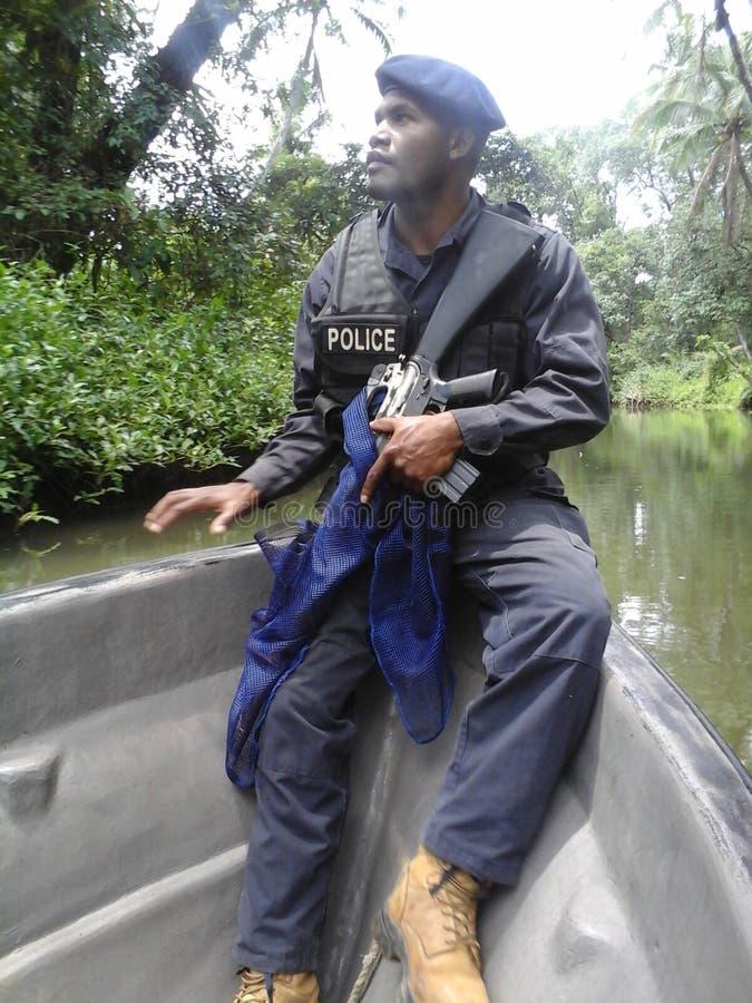 Manus Police Force royalty-vrije stock foto's