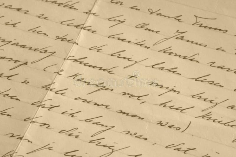 Manuscrit images libres de droits