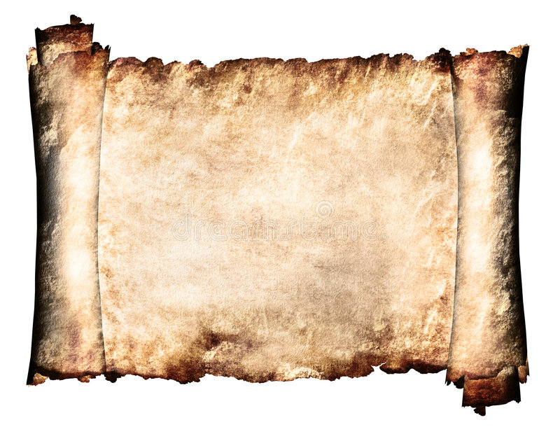 Manuscrit horizontal illustration de vecteur