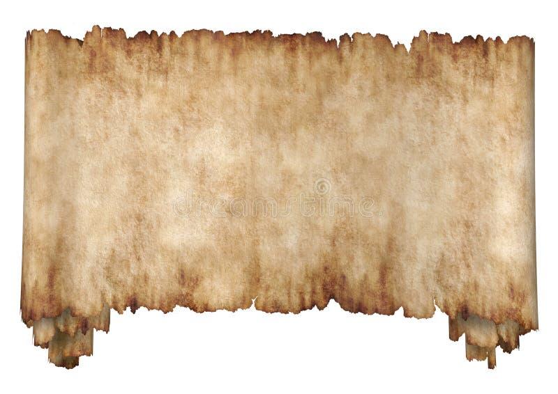 Manuscrito 2 horizontal imagen de archivo libre de regalías