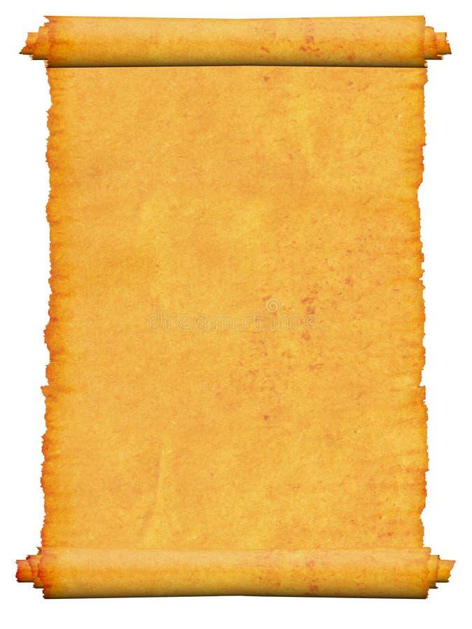 Manuscrito en blanco del desfile. imágenes de archivo libres de regalías