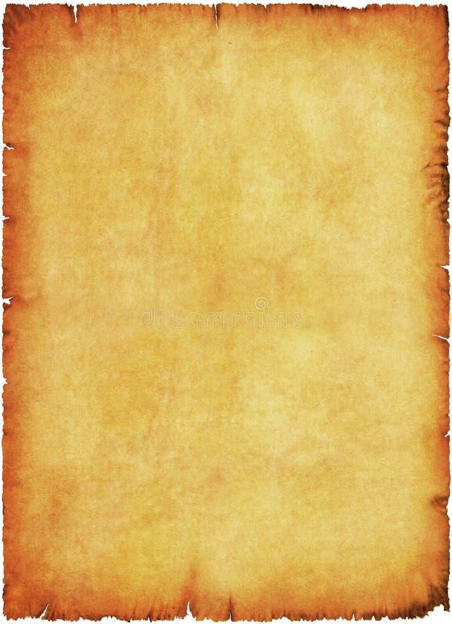 Manuscrito velho ilustração do vetor