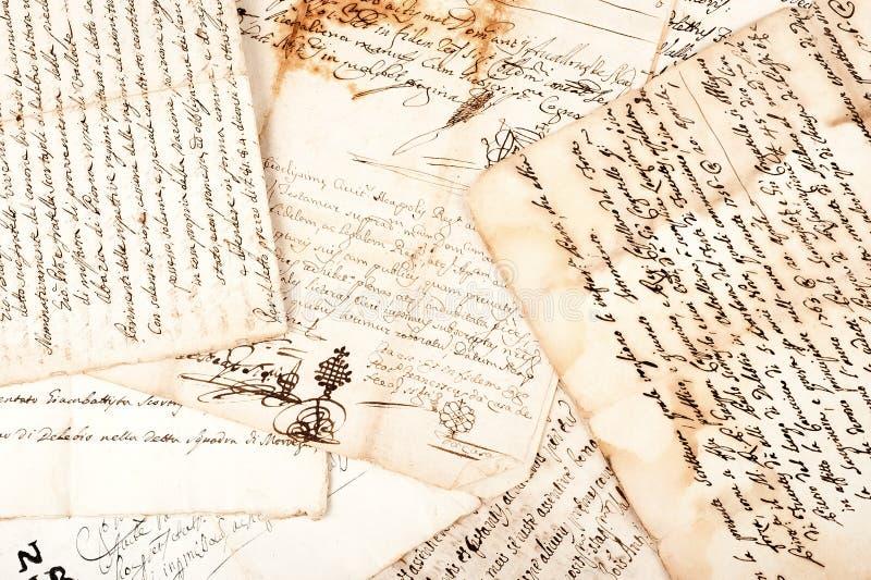 Manuskrypty zdjęcie royalty free