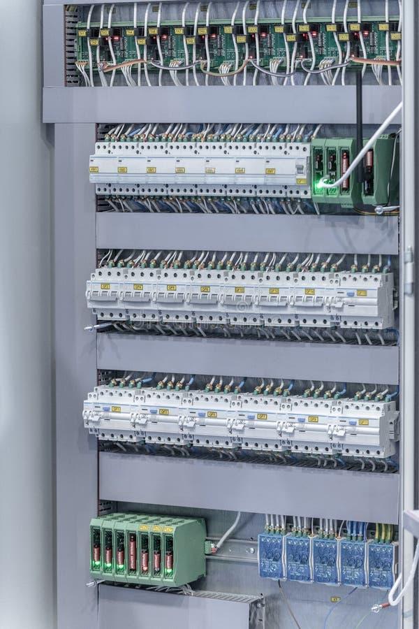 Manutenzione accumulatore per di automobile di EV Attrezzatura diagnostica fotografia stock libera da diritti