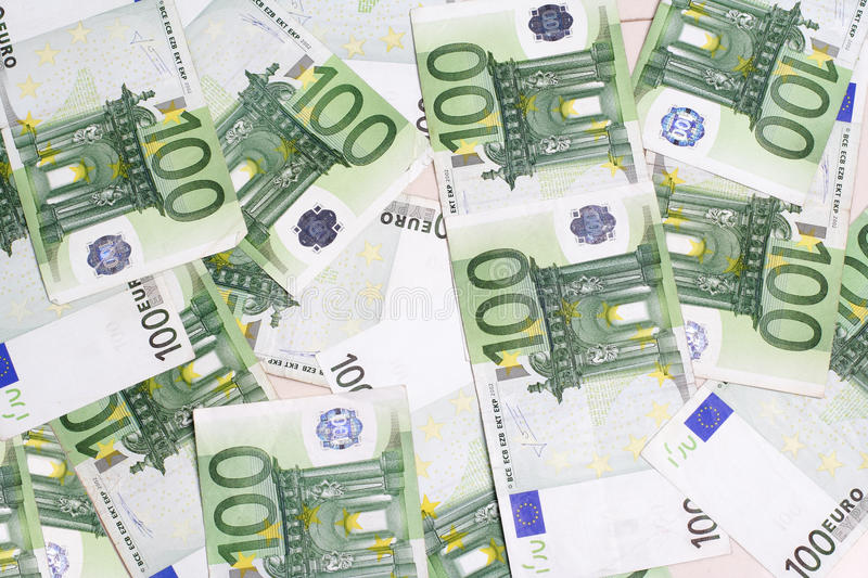 Download Many 100 euro banknotes stock photo. Image of many, luck - 15981252